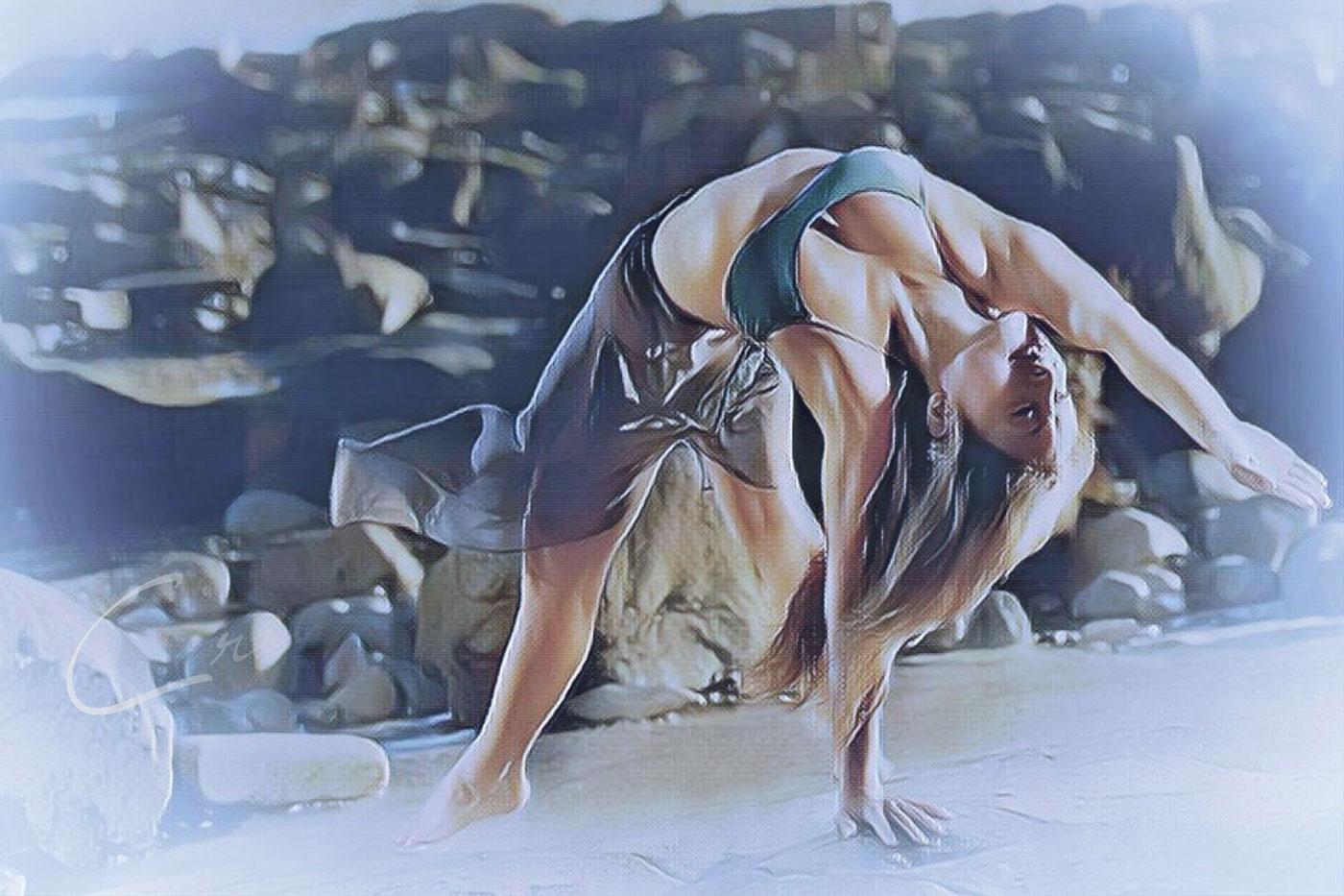 private yoga session marina del rey